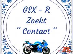 GSX-R zoekt contact